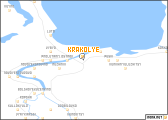 map of Krakol\