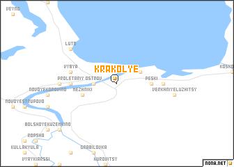 map of Krakol\