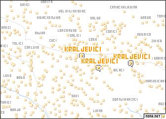 map of Kraljevići
