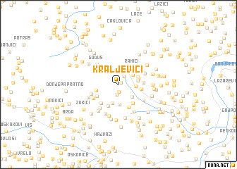map of Kraljevići