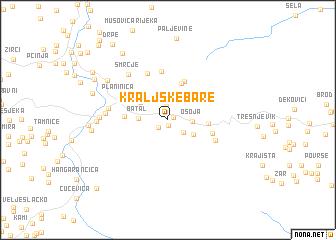 map of Kraljske Bare