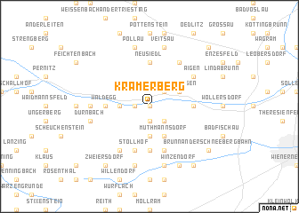 map of Kramerberg