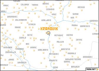 map of Kramovik