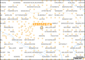 map of Kramsreith