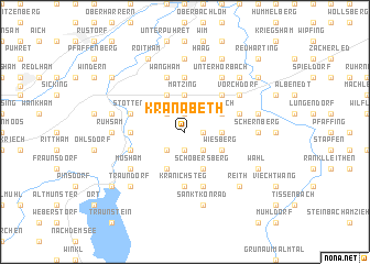 map of Kranabeth