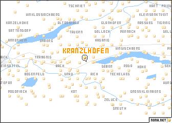 map of Kranzlhofen
