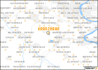map of Kranzmaar