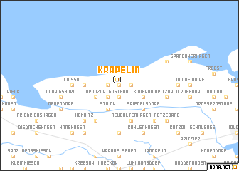 map of Kräpelin