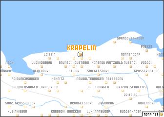 map of Kräpelin