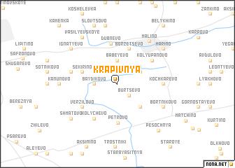 map of Krapivnya