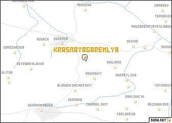 map of Krasnaya Garemlya