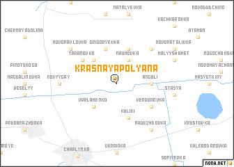 map of Krasnaya Polyana
