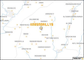 map of Krasnopillya