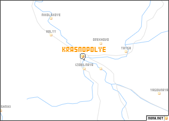 map of Krasnopol\