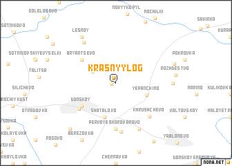 map of Krasnyy Log