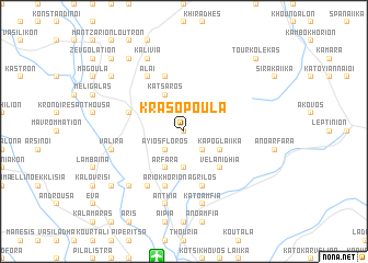 map of Krasopoúla