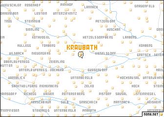 map of Kraubath