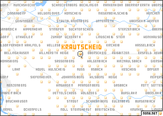 map of Krautscheid