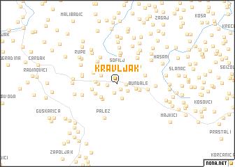 map of Kravljak