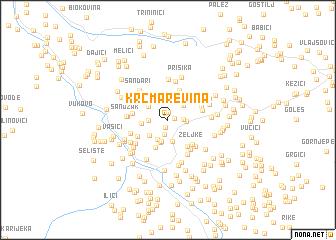 map of Krčmarevina