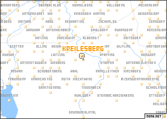 map of Kreilesberg