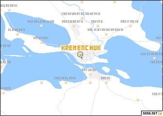 Kremenchuk Ukraine Map Nonanet - Kremenchuk map