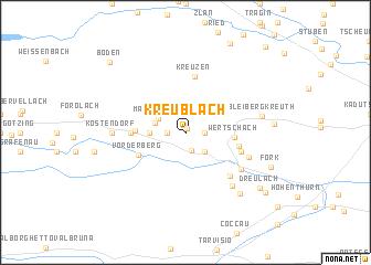 map of Kreublach