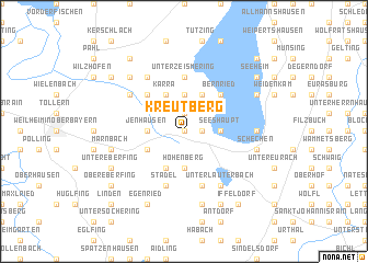 map of Kreutberg