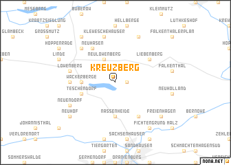 map of Kreuzberg