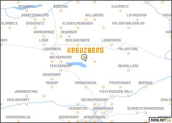 map of Kreuzberg