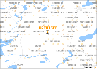 map of Krevtsee