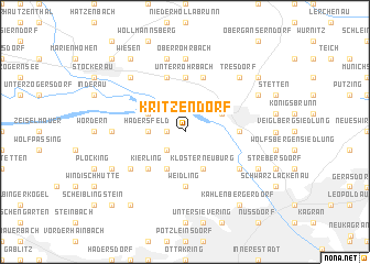 map of Kritzendorf