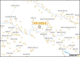 map of Krivodo