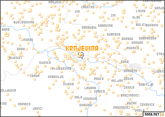 map of Krnjevina