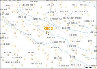 map of Krog