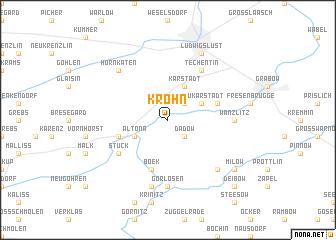 map of Krohn