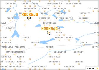 map of Kroksjö
