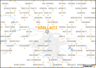 map of Kröllwitz