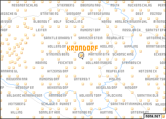 map of Krondorf