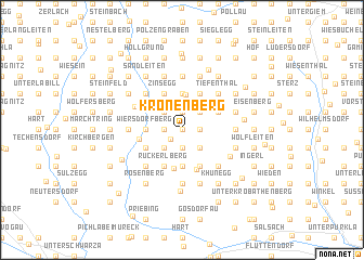 map of Kronenberg