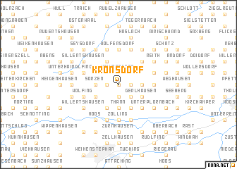map of Kronsdorf