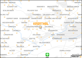 map of Kronthal