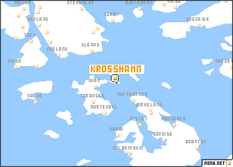 map of Krosshamn