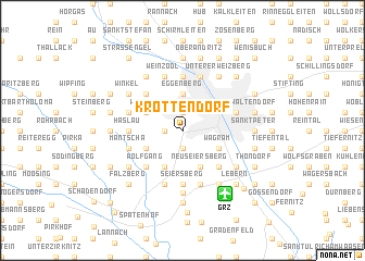 map of Krottendorf
