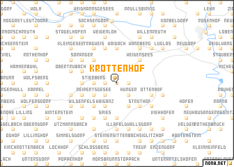 map of Kröttenhof