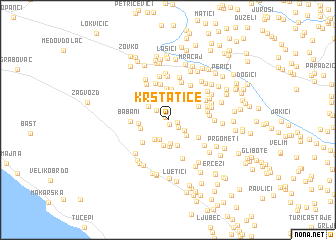map of Krstatice