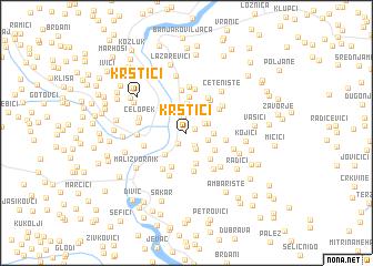 map of Krstići