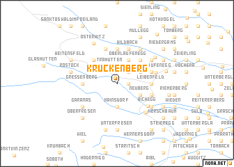 map of Kruckenberg