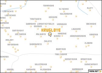 map of Krugloye
