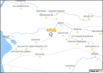 map of Krug